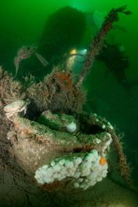 Duitse U-boot in de Noordzee - Foto: Udo van Dongen
