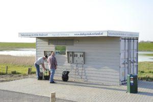 Vernieuwde vulcontainer bij de Zeelandbrug - Foto: de WItte Boulevard
