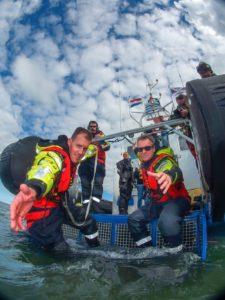 De KNRM is er ook voor duikers - Foto: Roel van der Mast