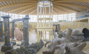 Decorstukken van indoorduikcentrum TODI - Foto: Dirk De Lobel