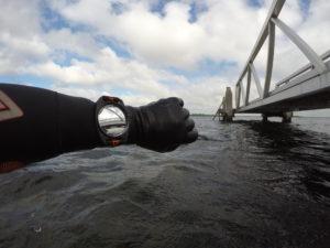 360Observer spiegel boven water