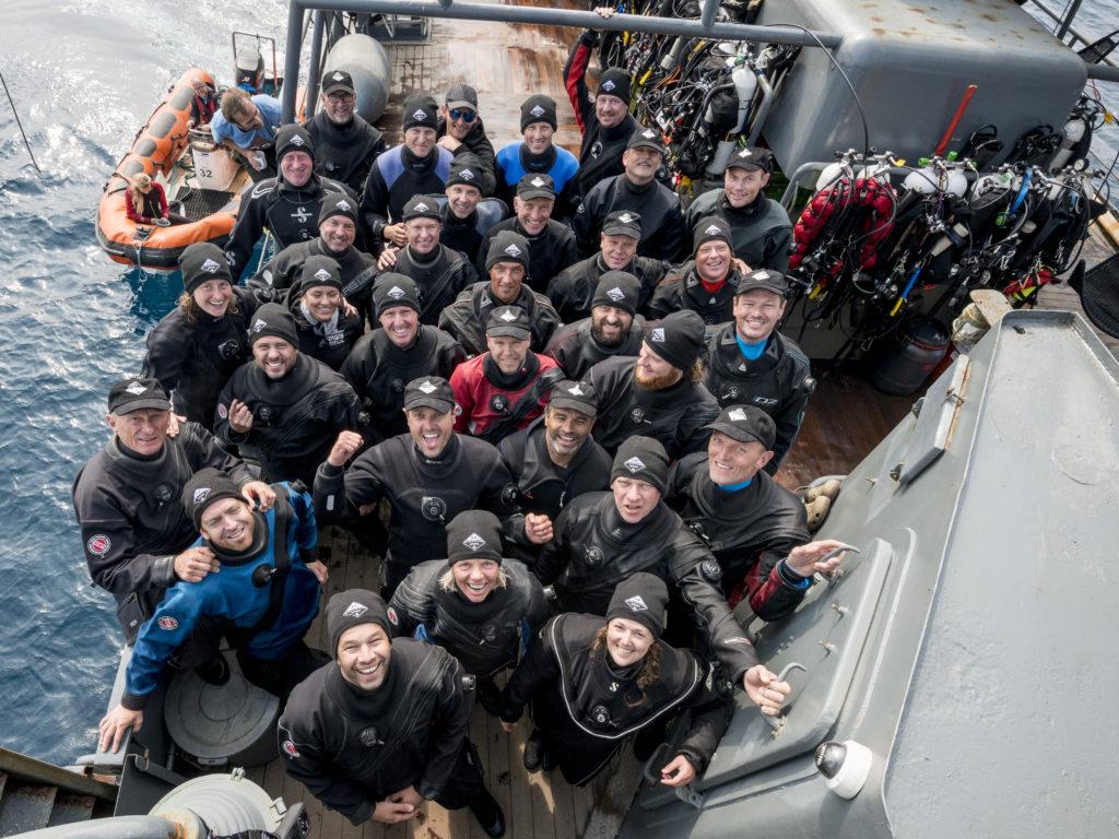 Expeditieteam - Foto: Udo van Dongen