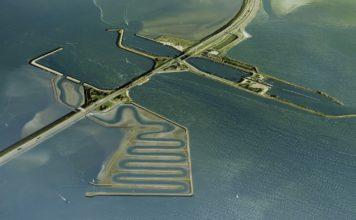 Vismigratierivier Afsluitdijk