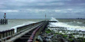 Pier loodshaven Vlissingen - Westerschelde - Foto: Wil Stutterheim