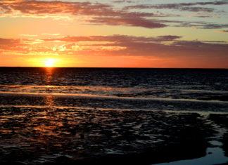 Zonsondergang boven de Noordzee - Foto: Frans Kohler / CC0 1.0