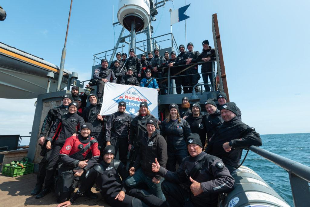 Leden duikexpeditie Doggersbank 2019 - Foto: Joost van Uffelen